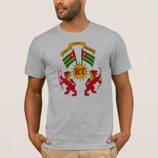 Camiseta T-shirt da brasão de Togo