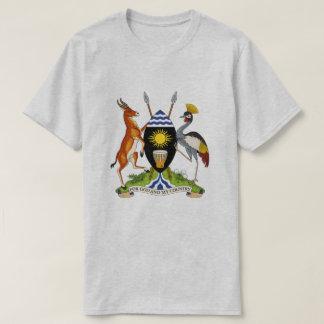 Camiseta T-shirt da brasão de Uganda