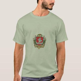 Camiseta T-shirt da brasão de Vilnius