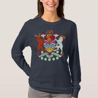Camiseta T-shirt da brasão do Columbia Britânica
