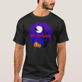 Camiseta T-shirt da bruxa do vôo do Dia das Bruxas