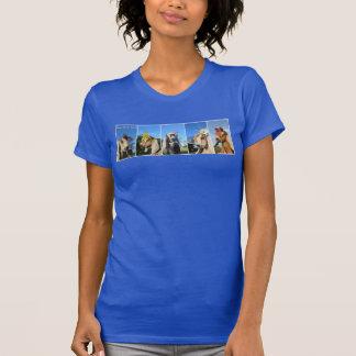 Camiseta T-shirt da cabra do bebê