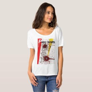 Camiseta T-shirt da caligrafia 3 de Patti Smith