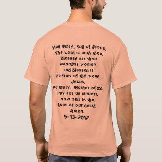 Camiseta T-shirt da caminhada da paróquia de OLF,