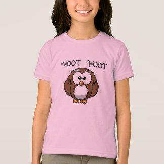 Camiseta T-shirt da campainha da coruja de Woot Woot