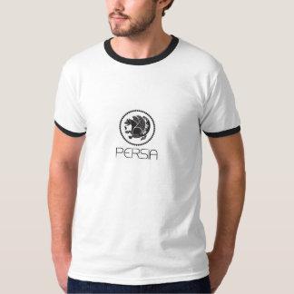 Camiseta T-shirt da campainha de Persia, branco/preto
