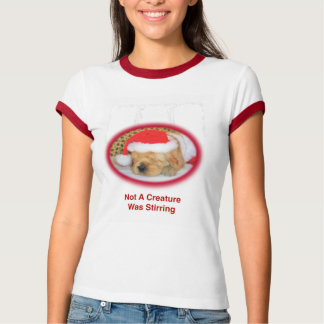Camiseta T-shirt da campainha do golden retriever das