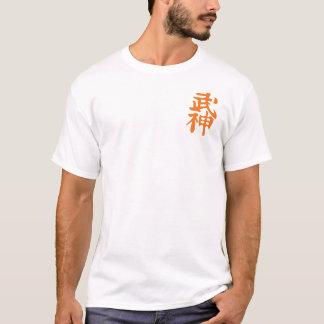 Camiseta T-shirt da campainha do Kanji de Bujinkan