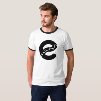 Camiseta T-shirt da campainha do rio de Edmonton