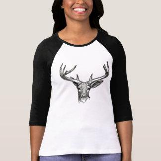 Camiseta T-shirt da campainha do veado