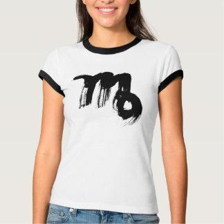 Camiseta T-SHIRT da CAMPAINHA do ZODÍACO do VIRGO de