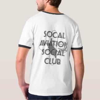 Camiseta T-shirt da campainha dos homens de SASC