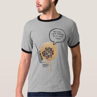 Camiseta T-shirt da campainha dos homens do pudim | do