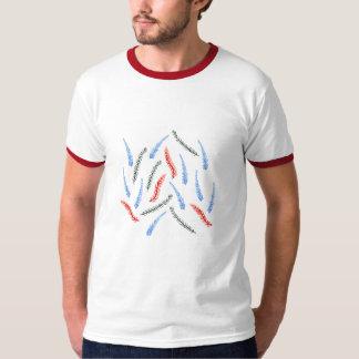 Camiseta T-shirt da campainha dos homens do ramo