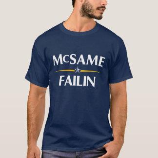 Camiseta T-shirt da campanha de McSame Failin 2008