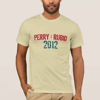 Camiseta T-shirt da campanha de PERRY * de RUBIO 2012