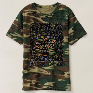 """Camiseta """"T-shirt da camuflagem dos homens da revolta"""