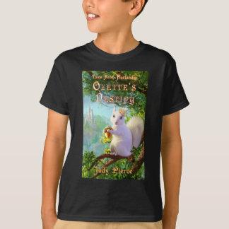 Camiseta T-shirt da capa do livro do destino de Ozette