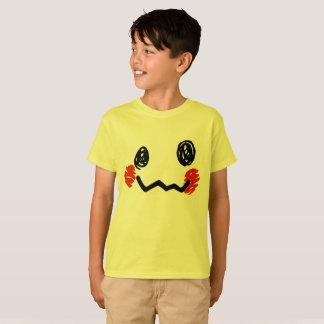 Camiseta T-shirt da cara do Scribble