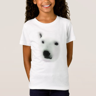 Camiseta T-shirt da cara do urso polar