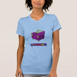 Camiseta T-shirt da carga da sala de Webkinz