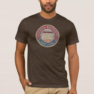 Camiseta T-shirt da cerveja pilsen dos irmãos de Schwan