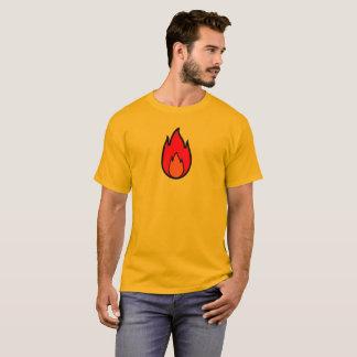Camiseta T-shirt da chama