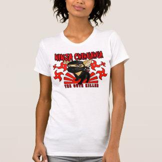 Camiseta T-shirt da chihuahua de Ninja