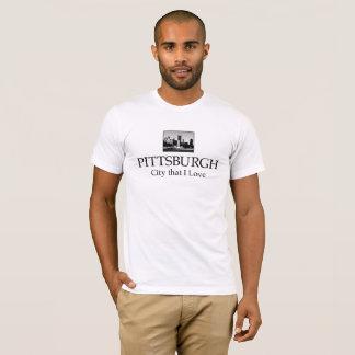 CAMISETA T-SHIRT DA CIDADE DE PITTSBURGH