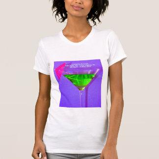 Camiseta T-shirt da cimeira da celebridade com itinerário