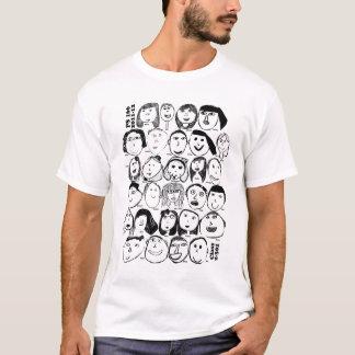 Camiseta T-shirt da classe 2011-12 2-301 do picosegundo 166