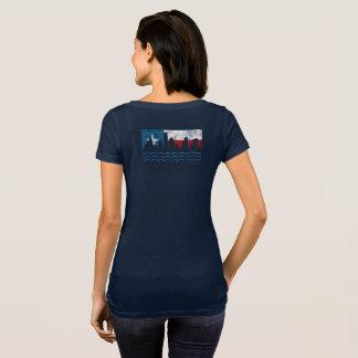 Camiseta T-shirt da colher de Harvey do furacão forte de