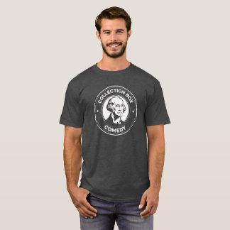 Camiseta T-shirt da comédia da caixa da coleção