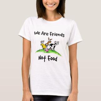 Camiseta T-shirt da comida dos amigos não