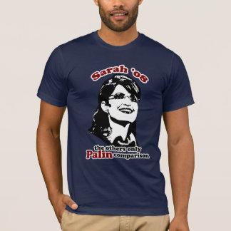 Camiseta T-shirt da comparação de Palin