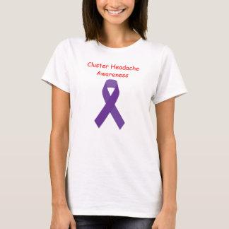 Camiseta T-shirt da consciência da dor de cabeça de