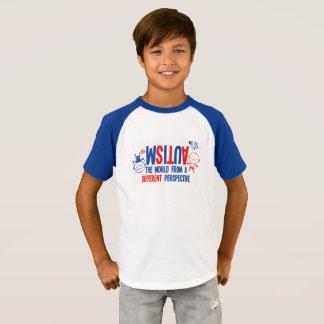 Camiseta T-shirt da consciência do autismo dos miúdos -
