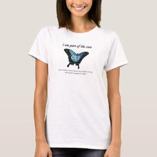 Camiseta T-shirt da consciência do CFS
