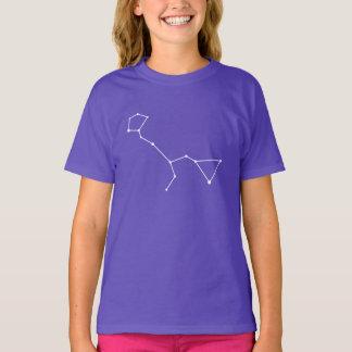 Camiseta T-shirt da constelação de Cetus