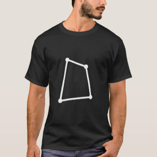 Camiseta T-shirt da constelação do Corvus