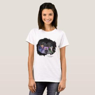 Camiseta T-shirt da contração muscular do universo da lata