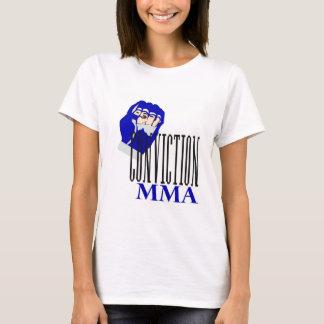 Camiseta T-shirt da convicção