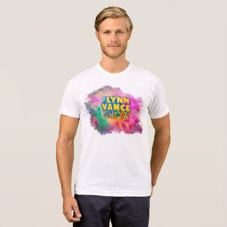 Camiseta T-shirt da cor da mostra de Lynn Vance o multi