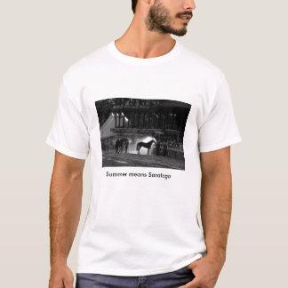 Camiseta T-shirt da corrida de cavalos