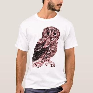 Camiseta T-shirt da CORUJA do VINTAGE