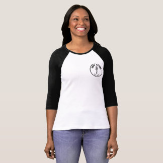 "Camiseta ""T-shirt da crista 3/4-Sleeve do sesh"" das"
