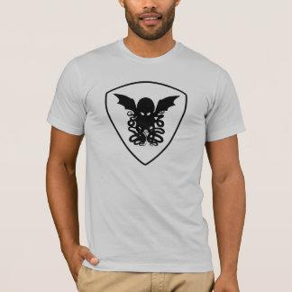 Camiseta T-shirt da crista de Cthulhu