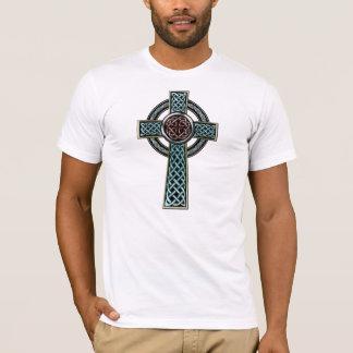 Camiseta T-shirt da cruz celta 2