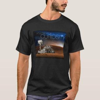 Camiseta T-shirt da curiosidade de Marte