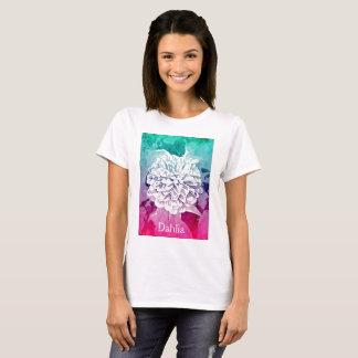 Camiseta T-shirt da dália